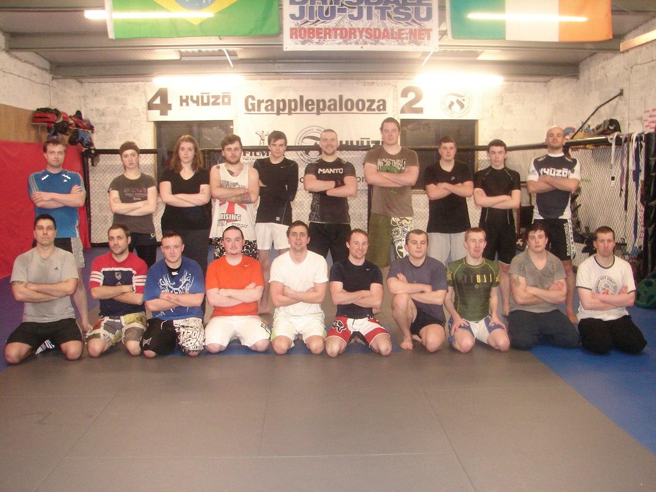 The Beginner MMA Crew
