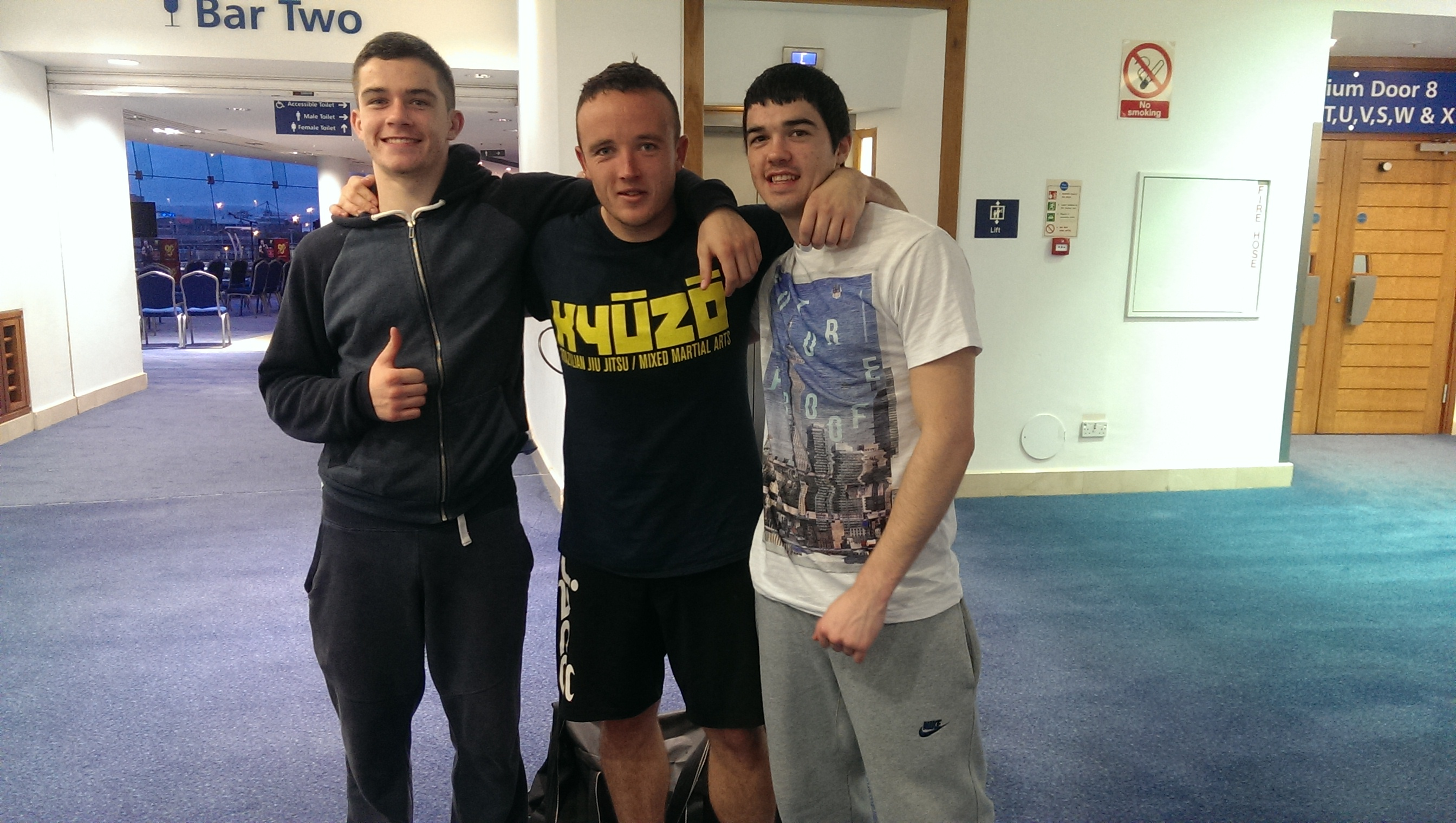 Kyuzo MMA, Belfast Kumite Aug14. Nathan Kelly, Gary Bligh, Austin Lynch