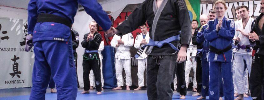 Coach's Corner: Kyuzo Brazilian Jiu Jitsu belt tests- Congrats